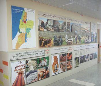 קיר העיר הכנענית ומלאכות קדומות