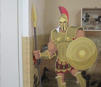 דגם עומד חייל פלישתי