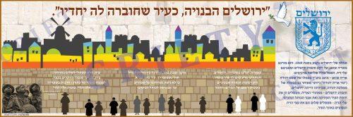 ירושלים-הבנויה עיר שחוברה<br>